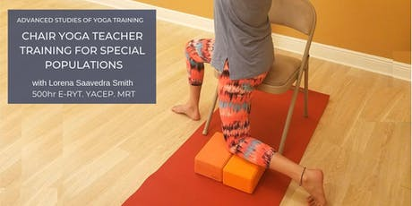 CHAIR YOGA TEACHER TRAINING FOR SPECIAL POPULATIONS tickets