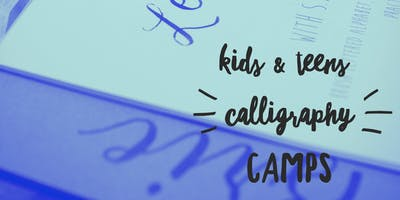 Kid's Calligraphy Camp (Grades 4-6)