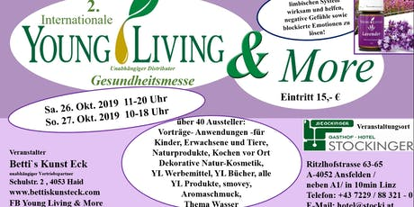 2. Internationale Young Living & More Messe Tickets