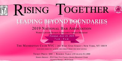 2019 National Bar Association-Women Lawyers Division Awards Breakfast