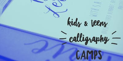 Teen's Calligraphy Camp (Grades 7-12)