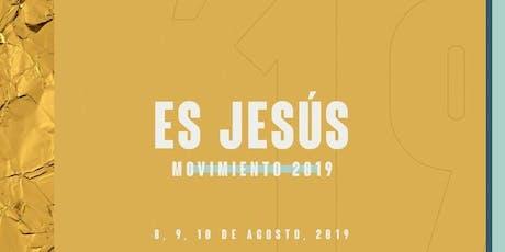 Conferencia Movimiento 2019: Es Jesús / Pastores y líderes  entradas