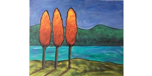 Fraser River Gold - Paint & Sip Night - Wine, Beer Included