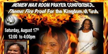 Women War Room Prayer Conference 2019 - Atlanta GA tickets