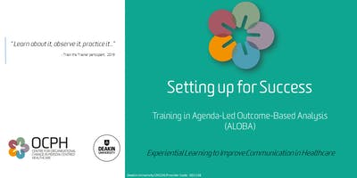 OCPH Communication training for trainers: ALOBA \
