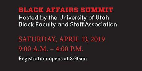 3rd Annual State Of Utah Black Affairs Summit Tickets