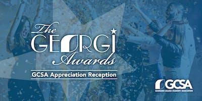 The Georgi Awards - GCSA Appreciation Reception