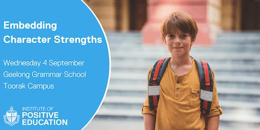 Embedding Character Strengths, Melbourne (September 2019)