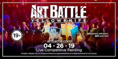 Art Battle Yellowknife - April 26, 2019
