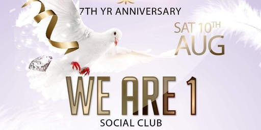 We Are One Social Club Club 7th Anniversary