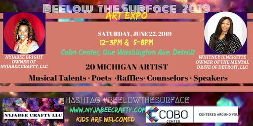 1st Annual Beelow the Surface Art Expo 2019