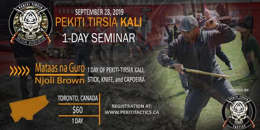 PTTA Canada presents Mataas na Guro Njoli Brown