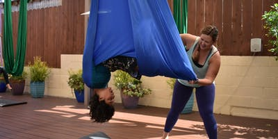 Kids Aerial Yoga Teacher Training by Playful Peace Yoga