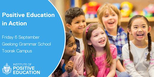 Positive Education in Action, Melbourne (September 2019)