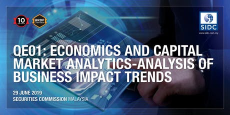QE01 - Economics and Capital Market Analytics - Analysis of Business Impact Trends  tickets