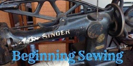 Beginning Sewing 101 tickets