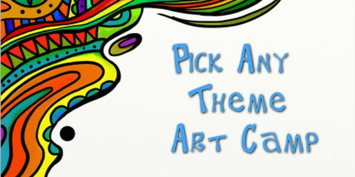 Pick Any Theme Art Camp July 15th-19th (Norcross)
