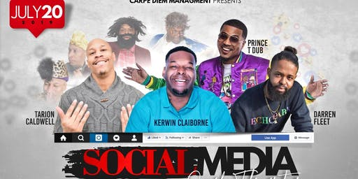 The Social Media Comedy Takeover Tour