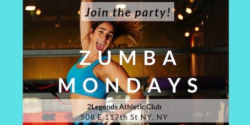 Zumba Mondays in East Harlem - Summer 2019
