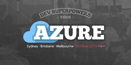 Azure Superpowers Tour - Sydney tickets