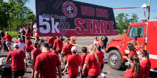 6th Annual Chief Frantz Red Run 5K