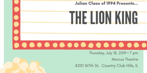 25th Anniversary of The Lion King Movie Screening - Jaguar Fundraiser