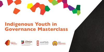 Indigenous Youth in Governance Masterclass 2019