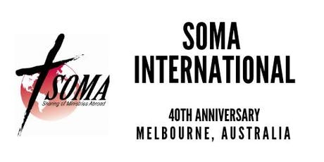 SOMA International 40th Anniversary tickets