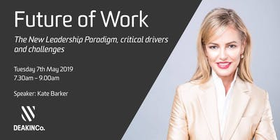 Future of Work: The New Leadership Paradigm, critical drivers and challenges
