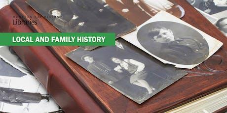 Genealogy Help - Bribie Island Library tickets