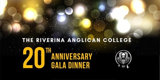 The Riverina Anglican College 20 Year Anniversary Gala Dinner