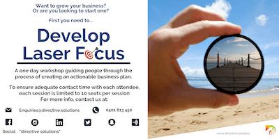 Strategic Planning - Develop Your Laser Focus