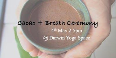 Cacao + Breath Ceremony