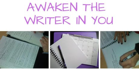 Awaken the Writer in You – Creative Writing & Mindfulness Workshop tickets