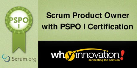 Scrum Product Owner with PSPO I Certification (HK) tickets
