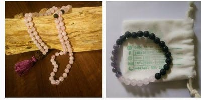 Vibrational Chanting and Crystal Mala Making Workshop