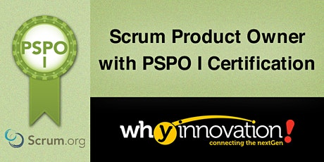 Scrum Product Owner with PSPO I Certification (SG) tickets