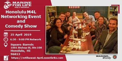 Marine for Life Hawaii Networking Event