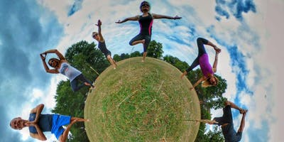 Yoga and Picnic at Bushy Park