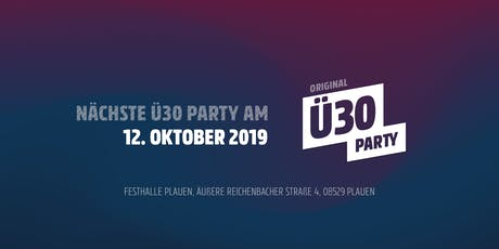Ü30 Plauen Tickets