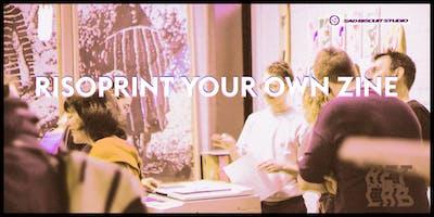 Risoprint workshop: make your own zines (i.s.m. Sad Biscuit Studio)