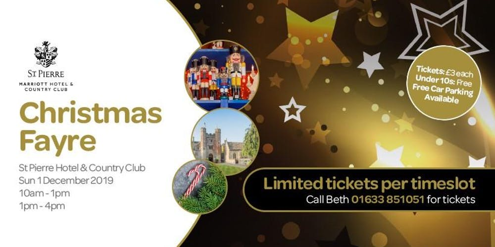 St Pierre, Christmas Fayre Tickets, Sun 1 Dec 2019 at 10:00