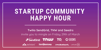 Community Happy Hour with Twilio SendGrid, The Next Web, and Seedrs at TQ