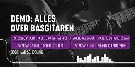 Demo 'Alles over basgitaren' tickets