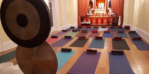 Gong Relaxation Sound Bath at Kagyu Samye Dzong (S