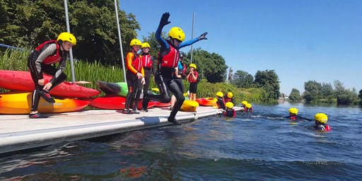 Kids Summer Kayaking Camp 2019, 1-5 July Morning (10am - 12.30pm) Clonmel