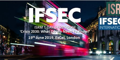IFSEC 2019 ISRM Conference tickets