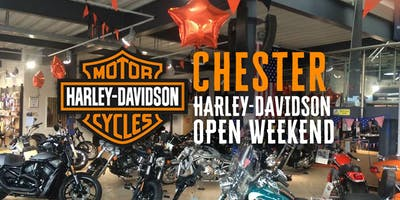 Open Weekend at Chester Harley-Davidson
