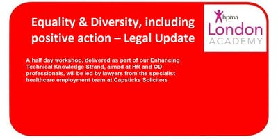 Equality & Diversity - Legal Update