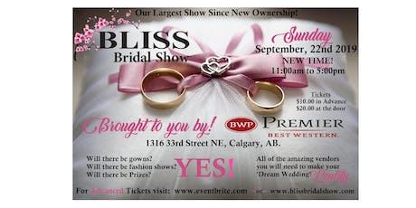 Bliss Bridal Fall 2019 tickets